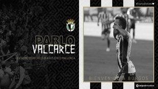Pablo Valcarce se convierte en el séptimo refuerzo del Burgos
