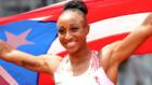 Camacho-Quinn celebra el oro olímpico