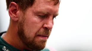 Sebastian Vettel en Hungría 2021