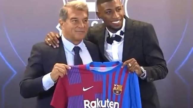 Presentación de Emerson: ¿dirá algo Laporta de Messi?
