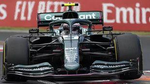 Vettel at the Hungarian GP
