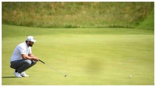 Jon Rahm durante el pasado British Open.