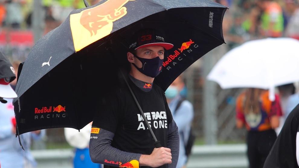 Verstappen en la previa del gran Premio de Hungría
