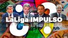 Imagen genérica de protagonistas de LaLiga tras la presentación de...