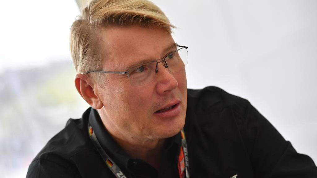 Mika Hakkinen.