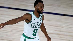 Kemba Walker with Boston Celtics