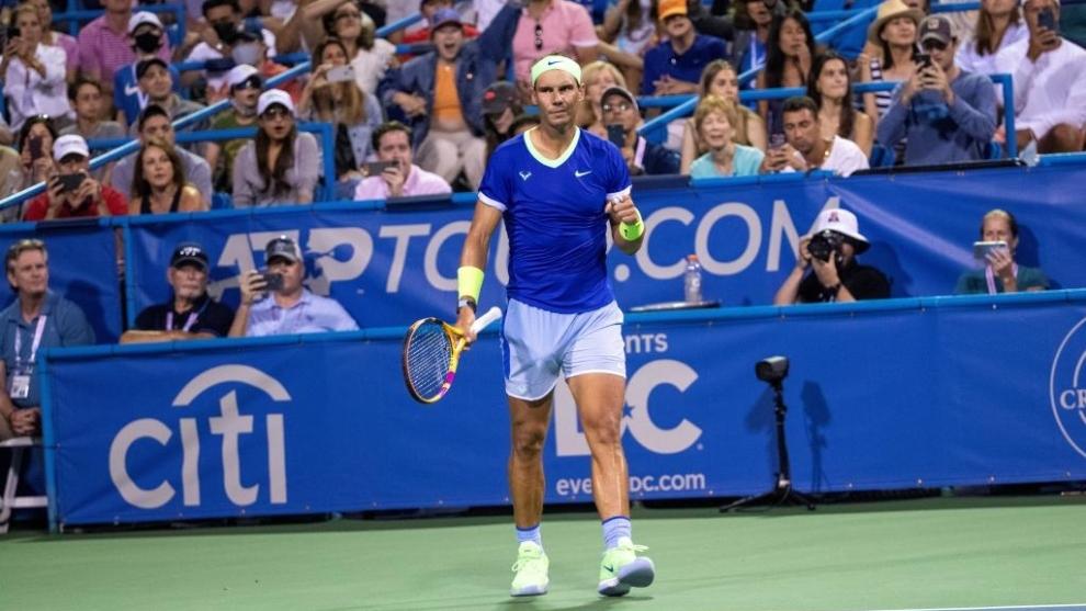 ATP Washington: Nadal regresa dos meses después arrasando en los pronósticos
