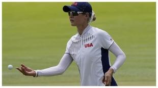 Nelly Korda, en el torneo olímpico.