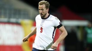 Kane, en un partido de la Eurocopa con Inglaterra.