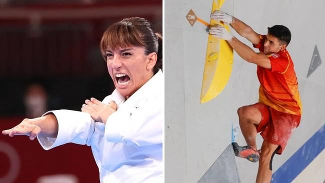En directo: Sandra Sánchez, a por el oro, Alberto pelea por las medallas en escalada