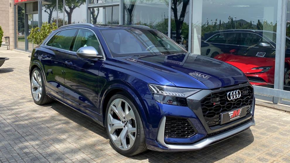 Kun Agüero - Audi RSQ8 - JM Automocion - SUV grande familiar