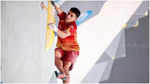 Alberto Ginés, en la final olímpica.