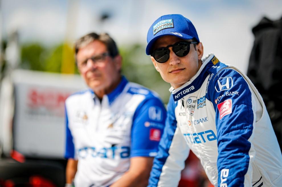 Alex Palou - Indycar - Nashville - líder - Ganassi