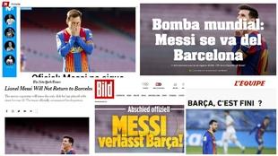 Impacto mundial de la exclusiva de MARCA: así lo ve la prensa catalana, la internacional