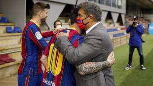 El presidente siempre ha mostrado cercanía con el futbolista...