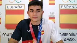 Alberto Ginés, en una imagen durante la rueda de prensa