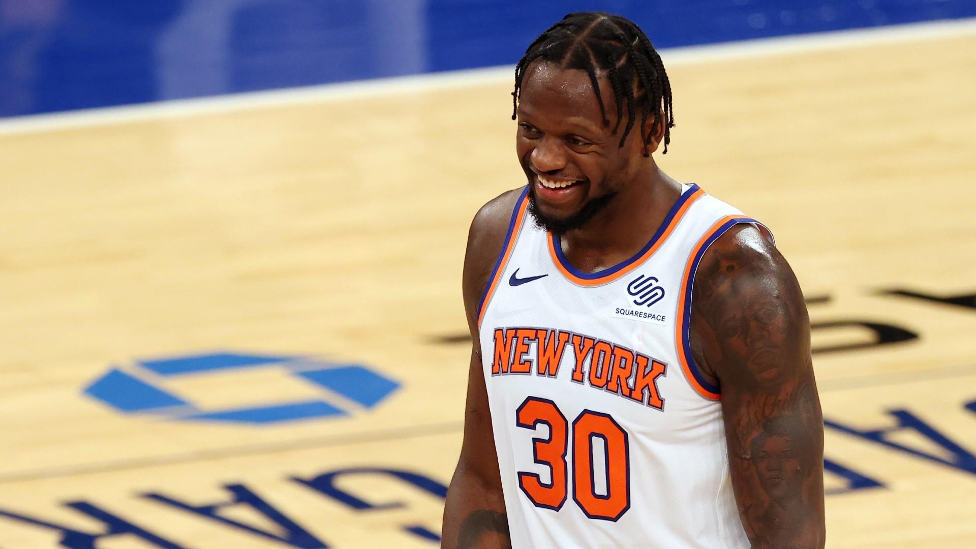 Julius Randle, en un partido de los Knicks.