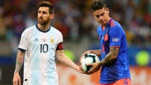 """James Rodríguez: """"Si Messi se va al PSG jugarían solos allá, que les den todos los títulos"""""""