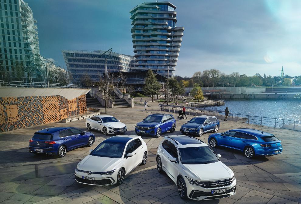 La gama híbrida de Volkswagen.