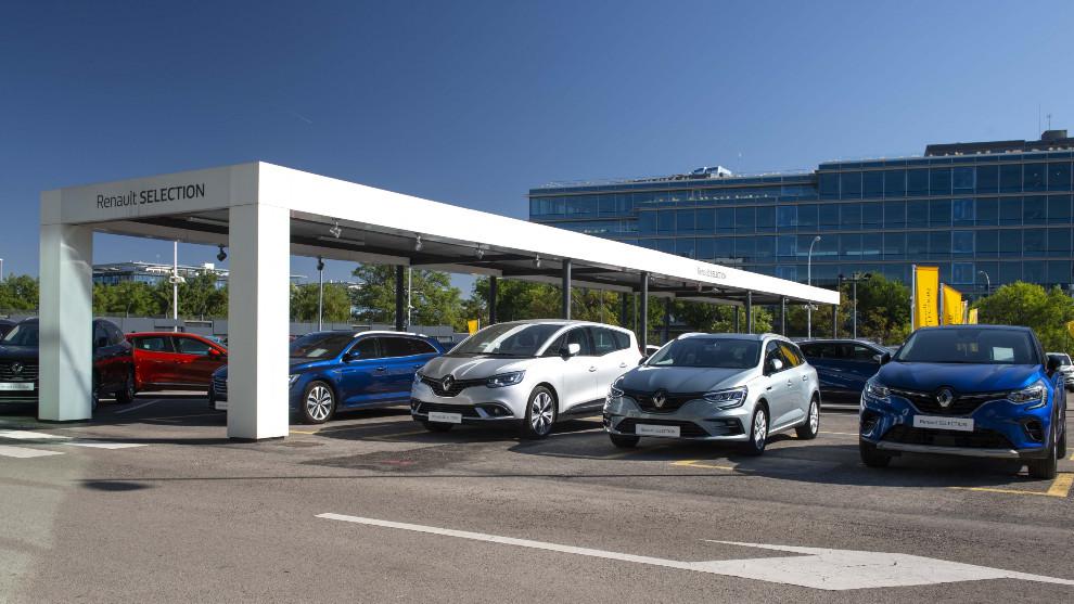 Varios coches de Renault.