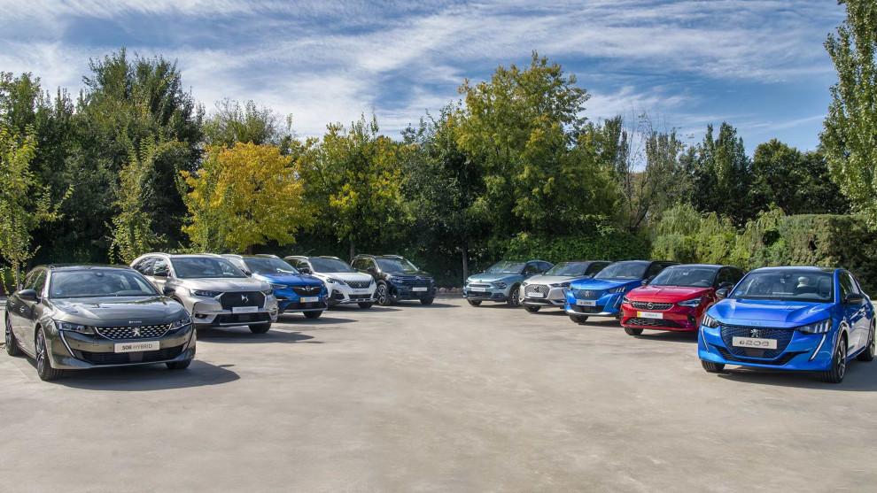 Gama electrificada de Peugeot, Citroën, Opel y DS.