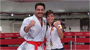 Sandra Sánchez y Damián Quintero, tras conocer que serán los...