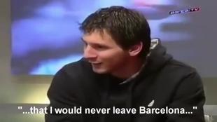 Messi siempre lo supo
