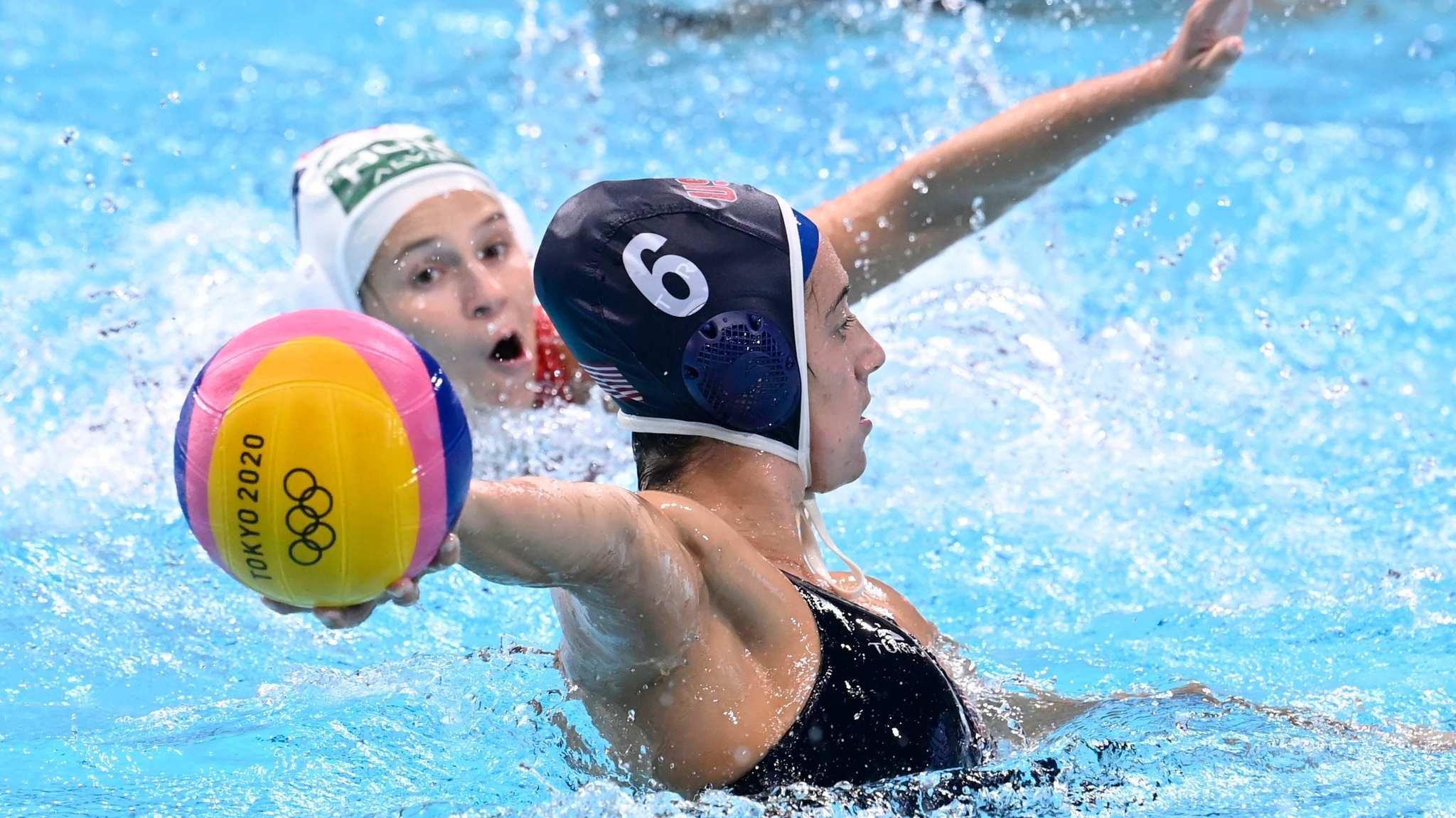Steffens, durante la semifinal contra Hungría