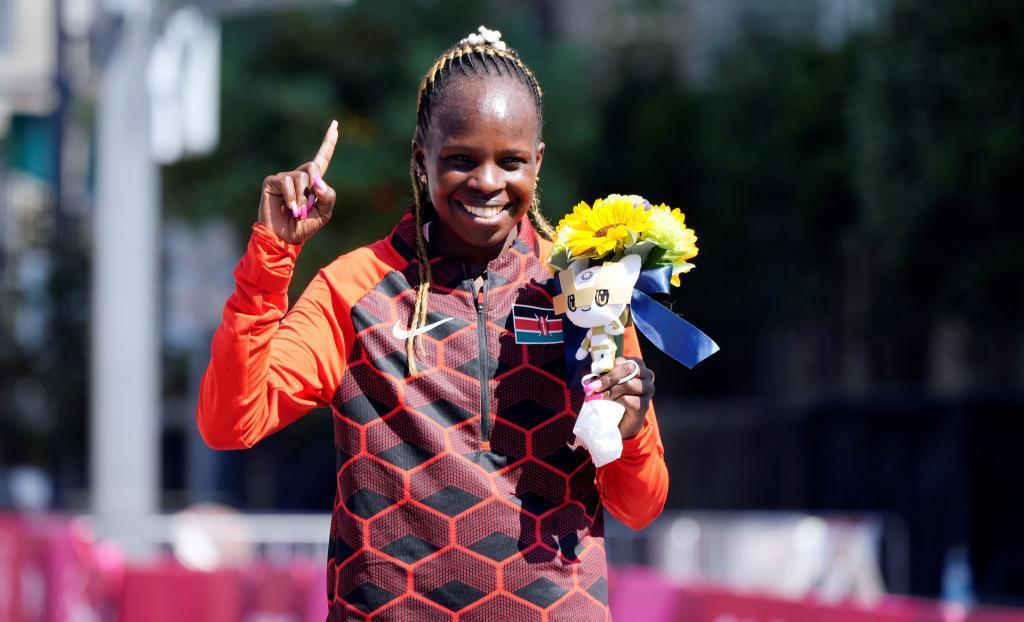 Jepchirchir, oro olímpico