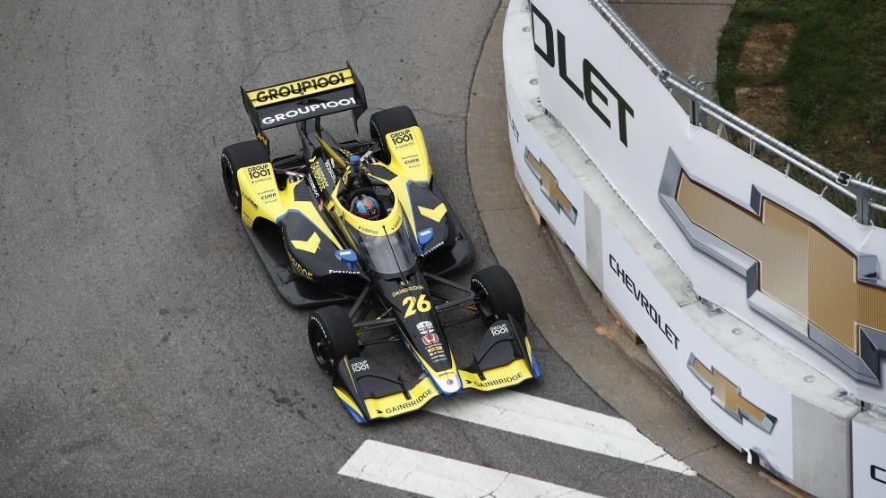 Colton Herta - pole position - Nashville - Indycar - Andretti - Music City GP