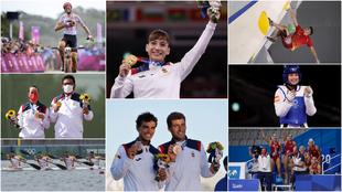 Todos los medallistas españoles en los Juegos de Tokio