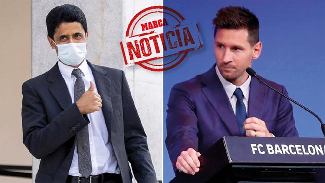 El PSG formaliza la oferta a Messi y espera cerrarlo en breve