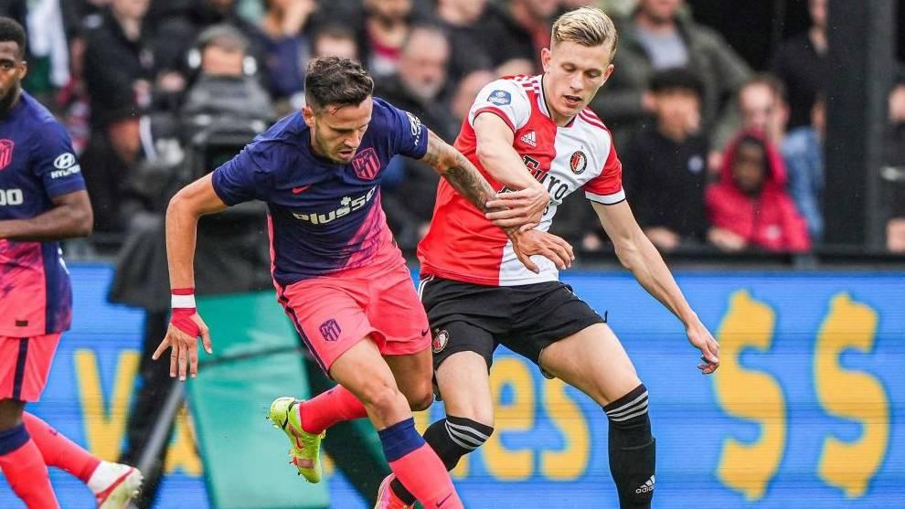 Doble ocasión del Feyenoord