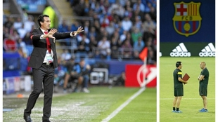 Unai Emery jugó dos finales de la Supercopa contra Real Madrid y...