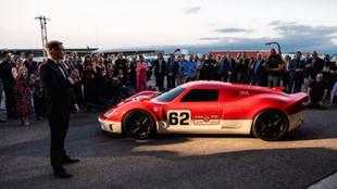 Presentación mundial del Lotus Type 62-2 by Radford en California,...