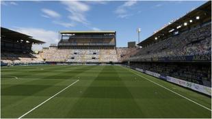 El Estadio de la Cerámica antes de un partido de la pasada temporada.