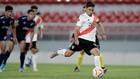 Gonzalo Montiel, en la Copa Libertadores con River.