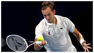 Daniil Medvedev ganó el último título del Masters 1000 de Shanghái...