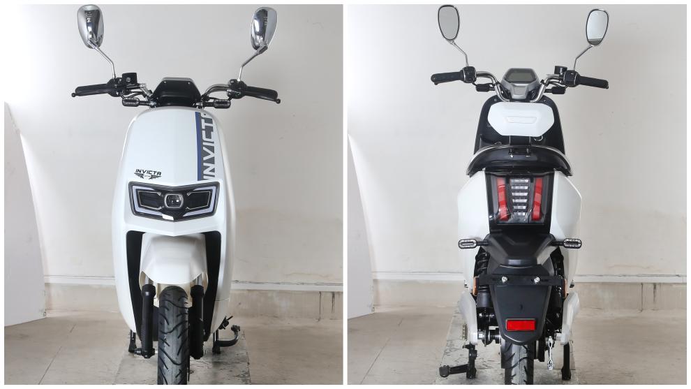 El Invicta Electric MB5 Utrera está disponible en cuatro colores: blanco, rojo cobre, gris y negro.
