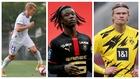 Ødegaard, Camavinga y Haaland, nombres propios en el día de hoy.