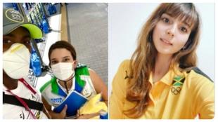 La voluntaria japonesa que 'salvó' el oro de Parchment en los 110 vallas y es ya una estrella en Jamaica