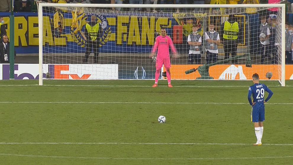 La tanda de penaltis de la Supercopa de Europa, en directo