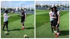 Messi, 'on fire' desde el primer día: llega casi dos horas antes del entrenamiento