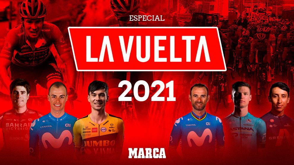 El Especial de MARCA para LaVuelta 2021: recorrido, favoritos, equipos...