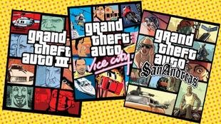 La trilogía clásica de GTA