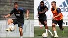 Hazard, durante el entrenamiento del Real Madrid