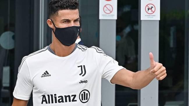 Cristiano Ronaldo, durante la pretemporada con la Juve