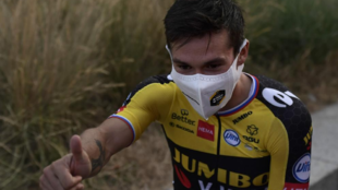 Primoz Roglic, ciclista del Jumbo-Visma