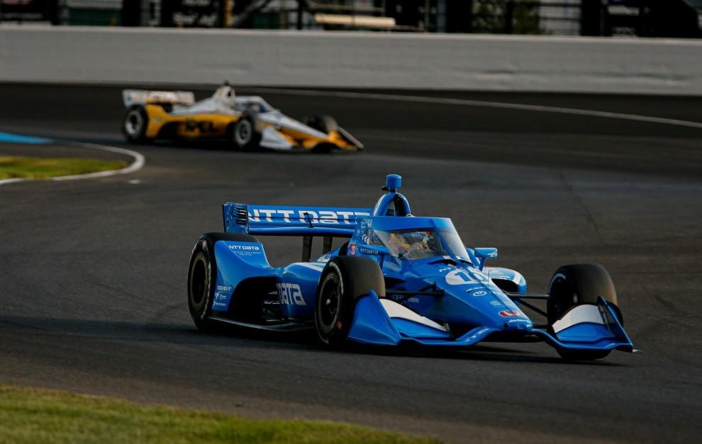 Alex Palou - Indycar - líder - Ganassi - Honda - rotura de motor - Indianapolis - Big Machine GP