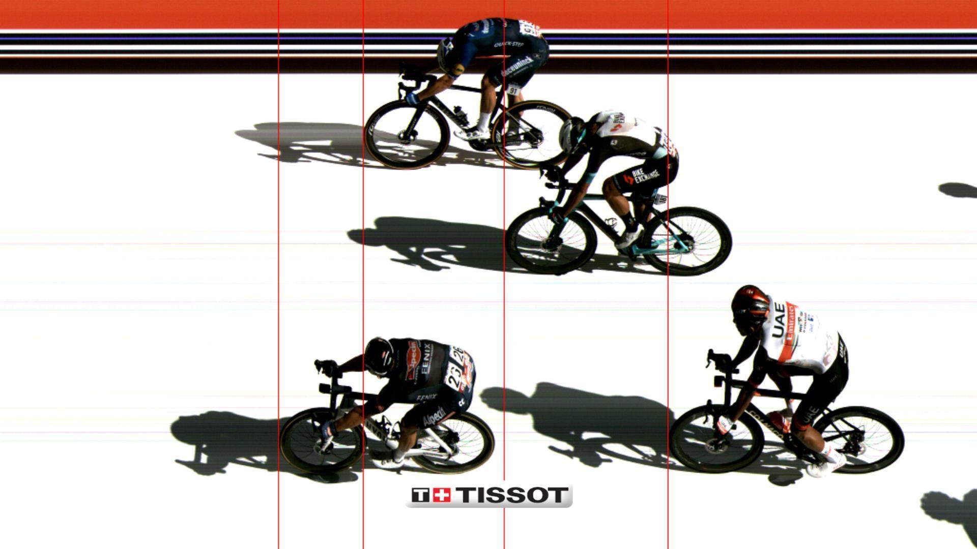 Photo Finish de la etapa